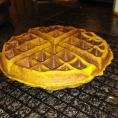 Grain Free Sweet Potato Waffles