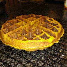 Grain Free Sweet Potato Waffles