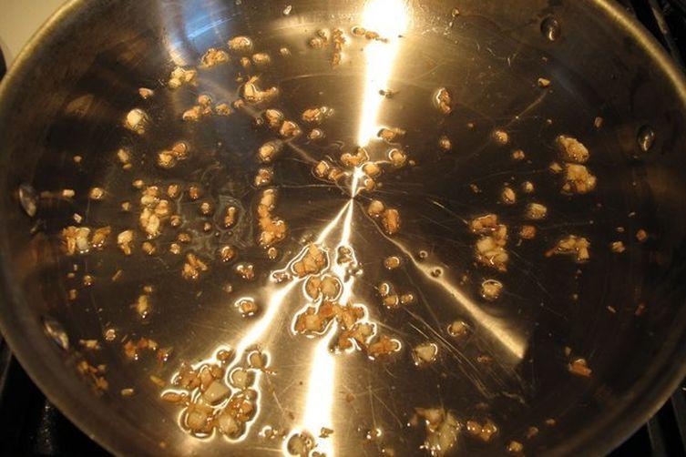 Roasted Garlic Sauteed Spinach w/ Parmesan