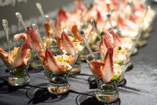 Winter Grilled Lobster Martinis