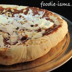 nutella pizza