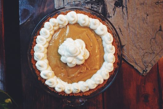 Butterscotch Pie with Pretzel Crust