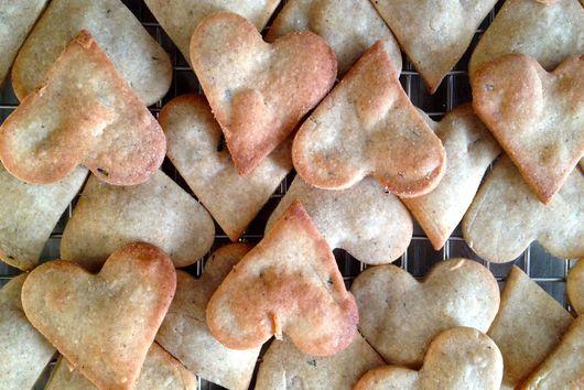 Chèvre Rosemary Buckwheat Crackers