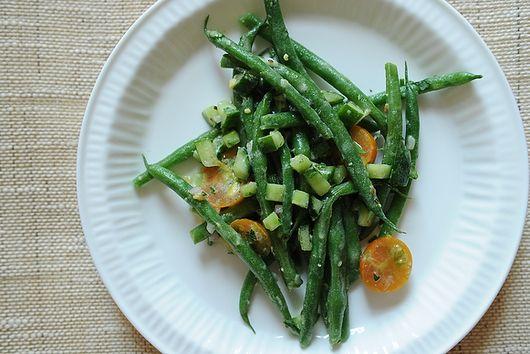 Haricots Verts à la Dijonnaise
