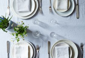 How to Set a Table Using Something Old, New, Borrowed & Blue
