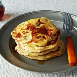Fruit-Laden, Whole-Grain Pancakes