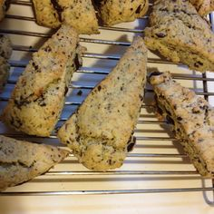 Mint Chocolate Chip Scones