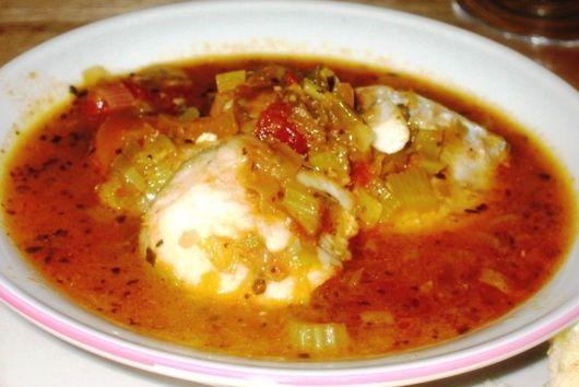 Mediterranean White Fish & Leek Stew