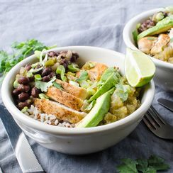Spicy Mexican-Style Protein Bowl