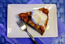 Coffee-Infused Upside-Down Banana Skillet Cake