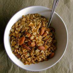Maple Coconut Spice Granola