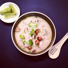 Summer sweater - Thai coconut sweet and spicy soup