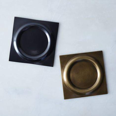Hand-Formed Brass Trivet