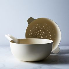 Recycled Bamboo Colander & Pour Bowl Set