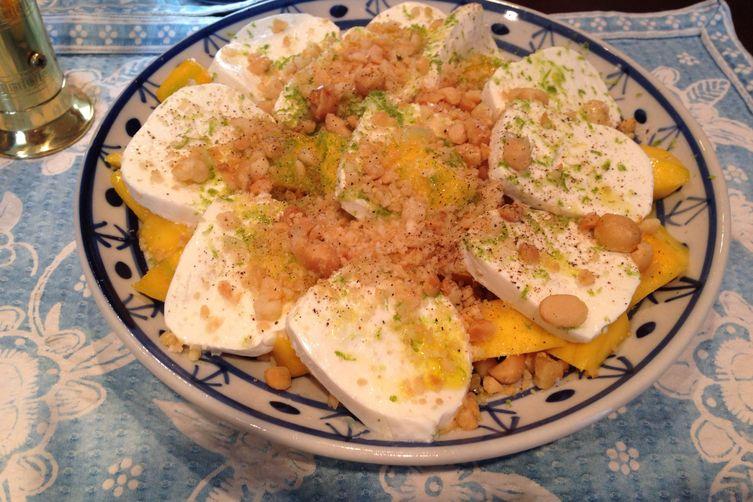 Malgorzata's Mango Caprese