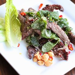 Nam Tok - Thai Waterfall Grilled Beef Salad