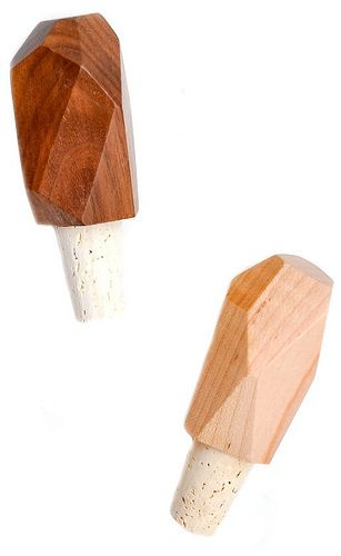 Faceted Cork Stopper