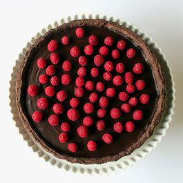Chococlate ganache tart