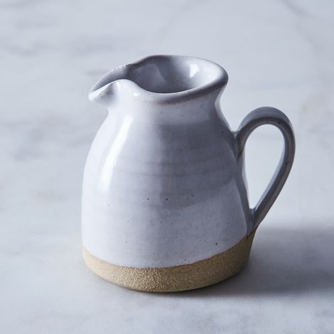 Dipped Stoneware Creamer