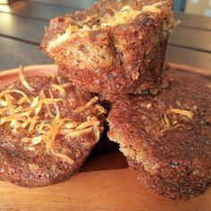 Coconut-Date Muffins