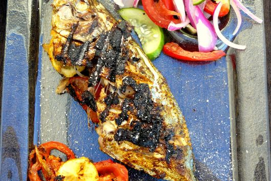 Grilled Berbere Fish
