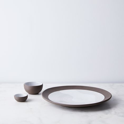 Food52 Raw Edge Round Serving Platter, by Jono Pandolfi