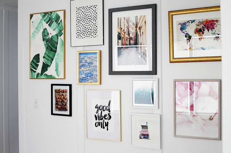 How to Create a Gallery Wall Like You Know What You're Doing
