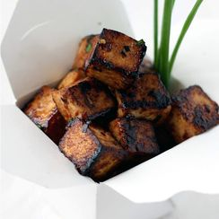 Sweet, Sticky & Spicy Tofu