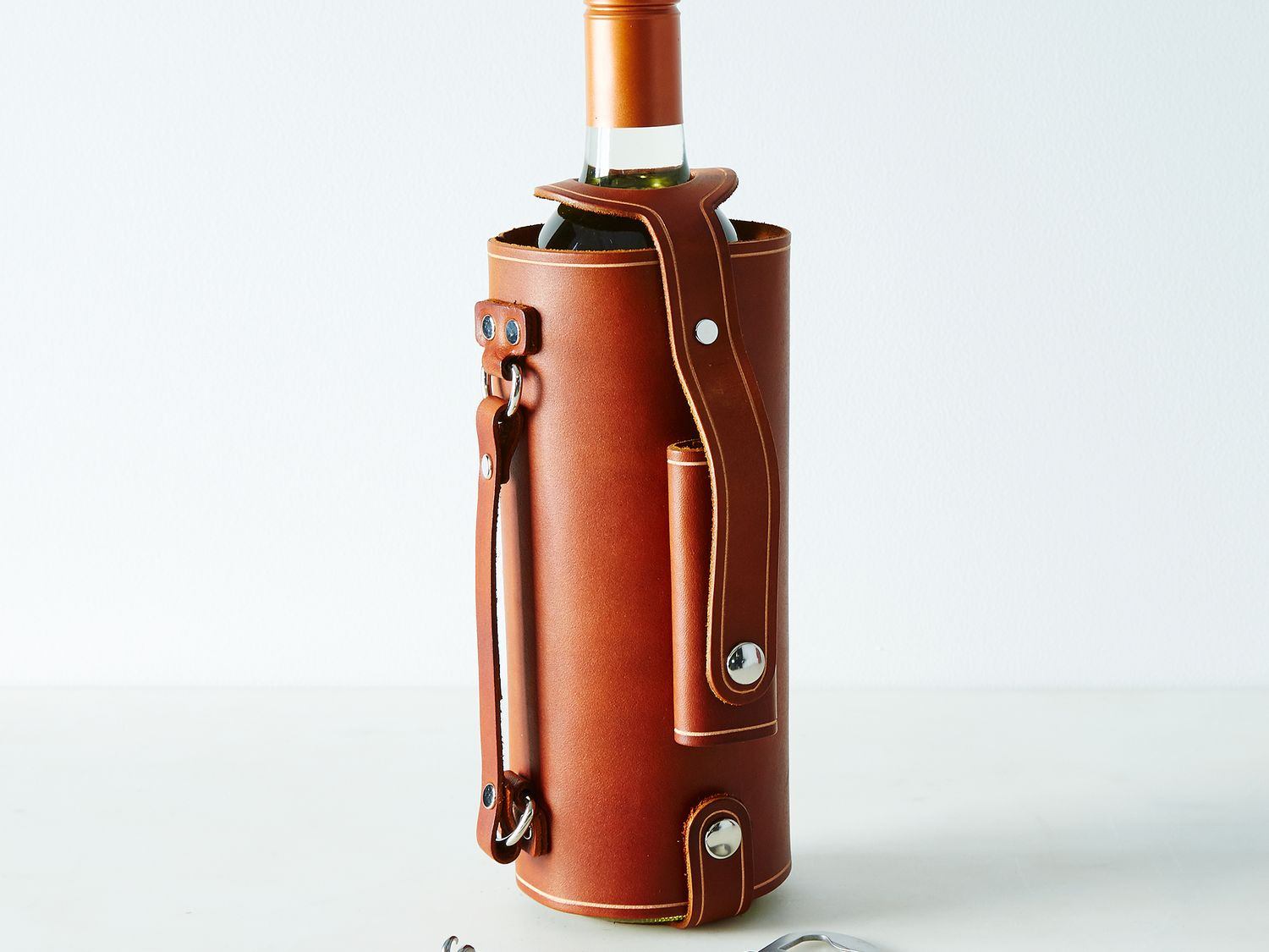 Leather Wine Carrier >> Leather Wine Carrier Wine Carrier Unique Gifts Pedal Happy