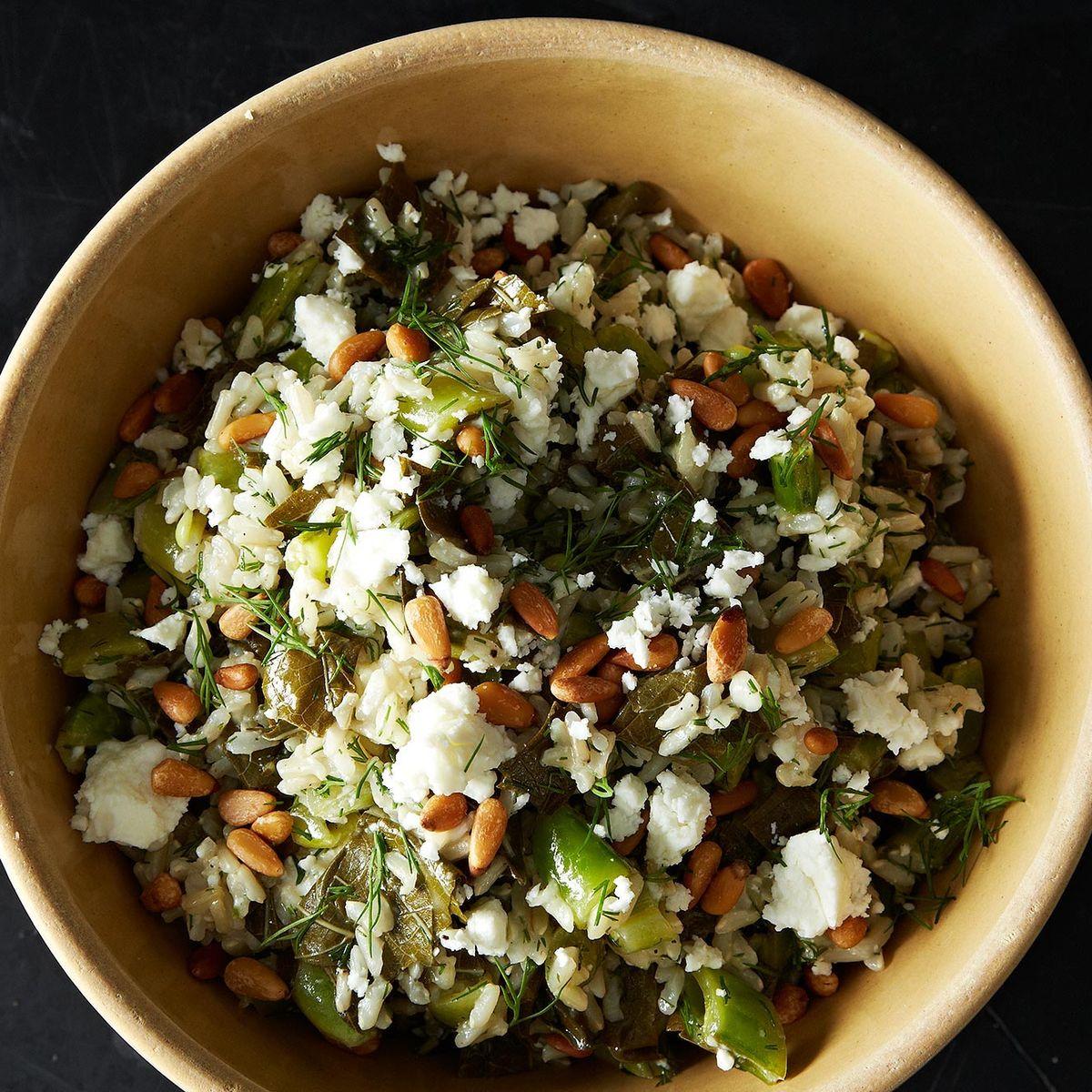 Grape Leaf Pilaf Recipe On Food52
