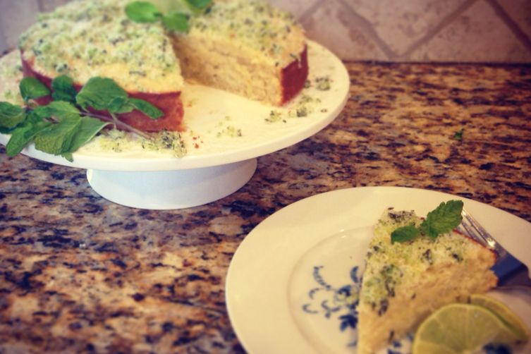 Lime and Coconut Yogurt Cake