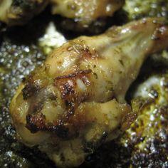 Coriander and Kaffir Lime wings