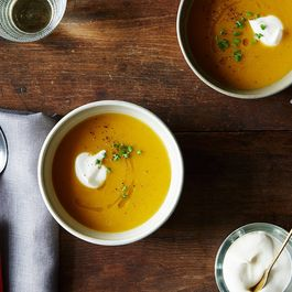Butternut soup by Hazel