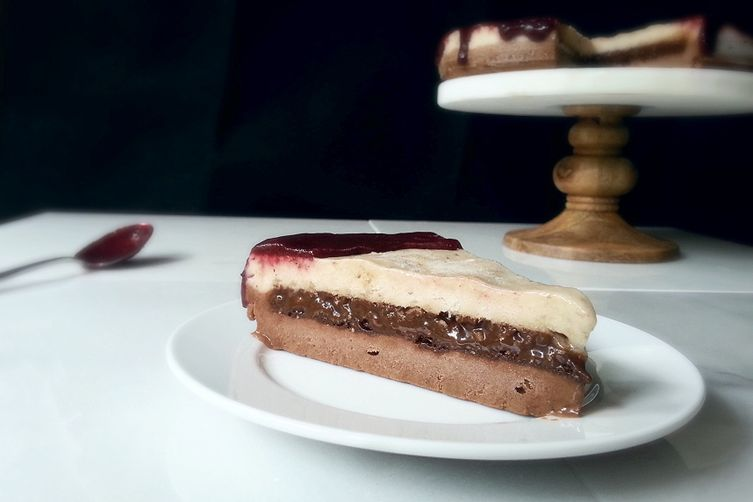 Vegan/Gluten Free DQ Copycat Ice Cream Cake