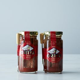 ORTIZ Brown Anchovies in Olive Oil (2-Pack)