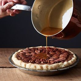 Salted Caramel Chocolate Pecan Pie