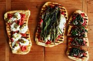 Make Your Pizza on Flatbread—and Grill It