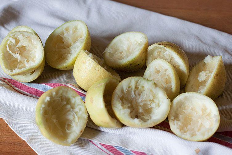 Lemon Granita (Granita al Limone)