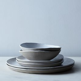 Food52 Linen Textured Dinnerware, by Looks Like White