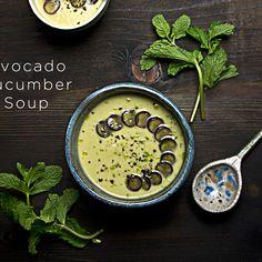 Avocado Cucumber Soup