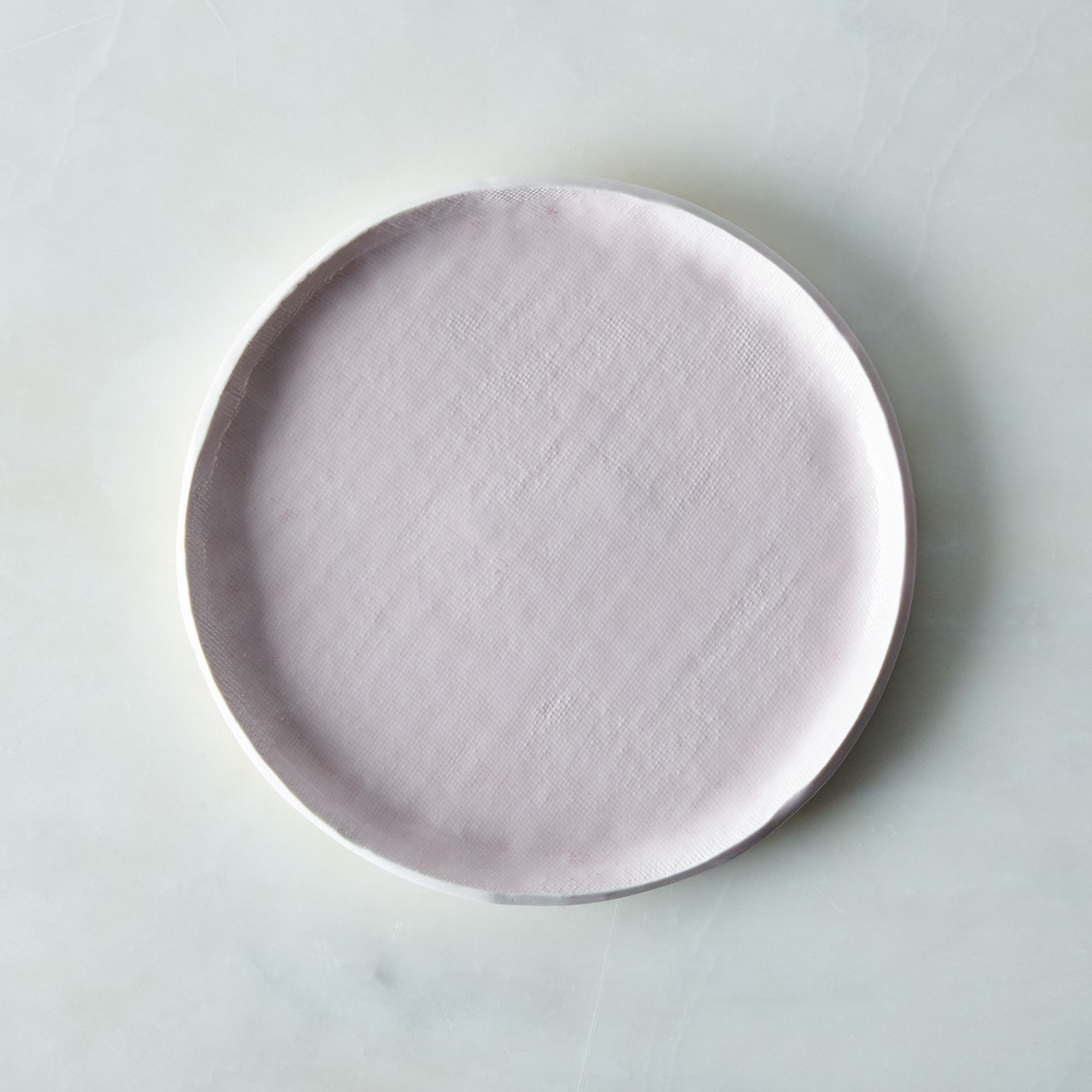 Food52 Pink Textured Porcelain Dinnerware Set, By Looks Like White Pink Textured Porcelain Salad Plate