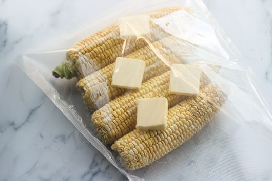 Sous Vide Mexican Corn on the Cob