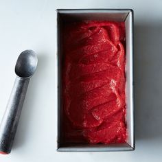 How to Make Strawberry Sorbet Without an Ice Cream Maker
