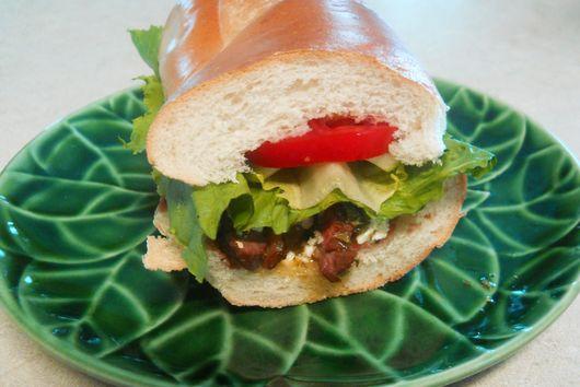 """The """"Flankenstein"""" Sandwich"""