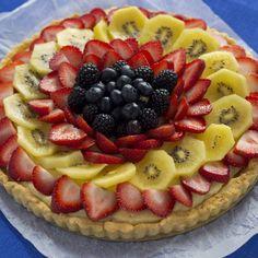 Fresh Fruit Tart (crostata di frutta) - Dolci (dessert)