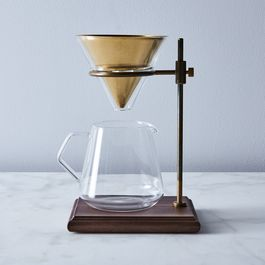 Brass Pour Over Brewer Stand