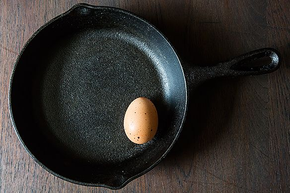 Egg in pan
