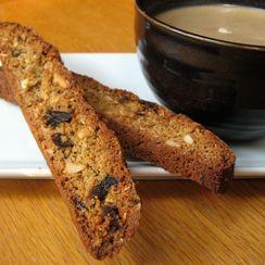 Chai Spice Biscotti