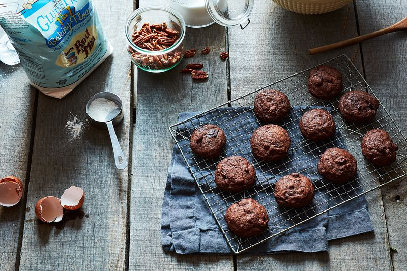 Cookies masquerading as brownies.
