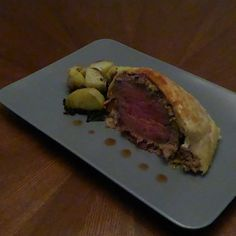 Asian inspired Beef Wellington